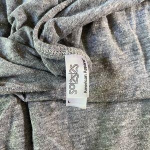 American Apparel Pants & Jumpsuits - Gray Romper
